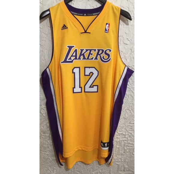 3d745204385 Adidas NBA Swingman Jersey Lakers Dwight Howard